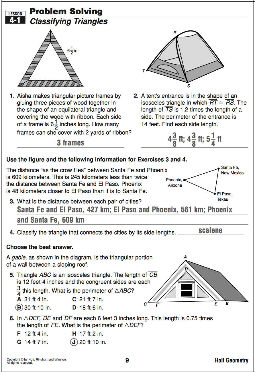geometry mrs murk s math class 4 1 problem solving