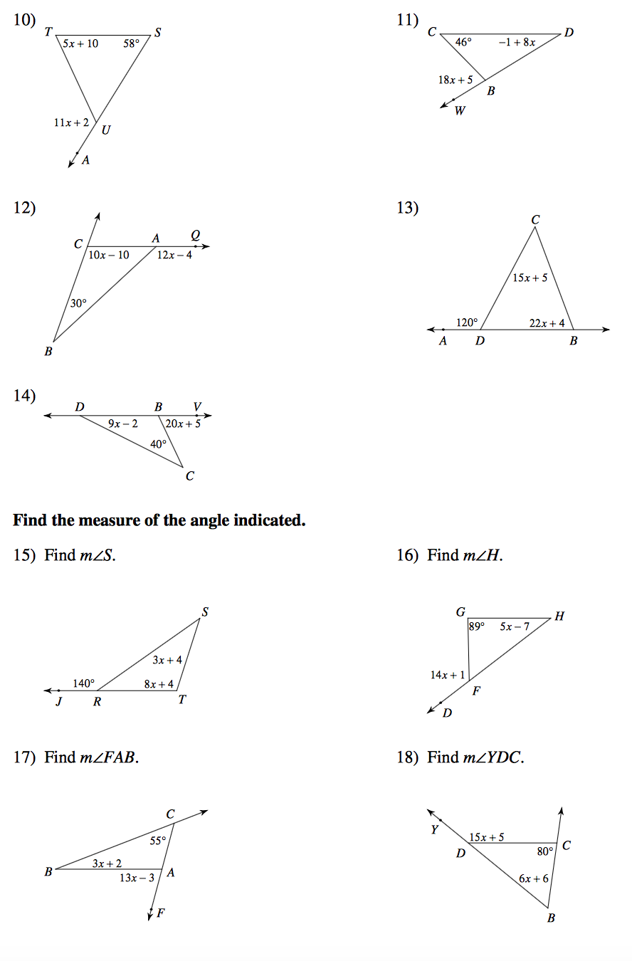 Worksheet Triangle Angles Worksheet Grass Fedjp Worksheet Study Site